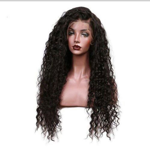 f2438e967 Black Curly Hair Wig, Length: 6 To 20 Inch, Rs 5000 /piece   ID ...