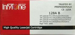 128A B(CE 320A) Compatible Colour Toner Cartridge For HP Printers