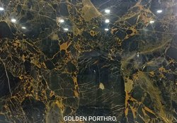 Polished Finish Imported Golden Prothro Marble, Slab, Thickness: 18 mm