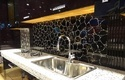 Black Agate Kitchen Back Splash