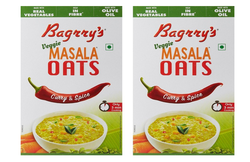 300g Bagrrys Curry And Spice Masala Oats