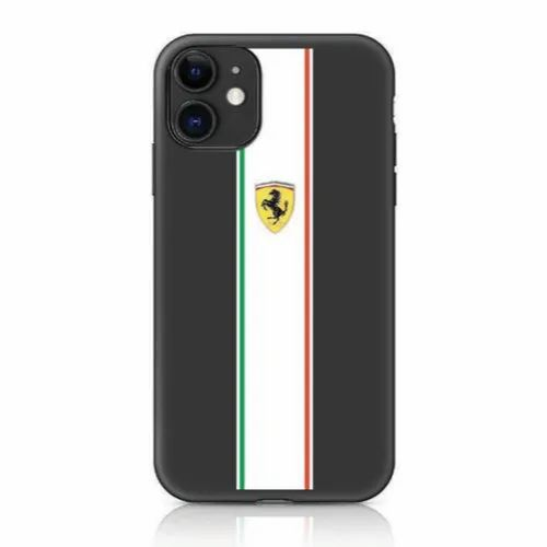 Back Cover Silicon Ferrari Iphone 11 Racing Stripe Phone Case For Mobile Safety Rs 3199 Box Id 21859649048