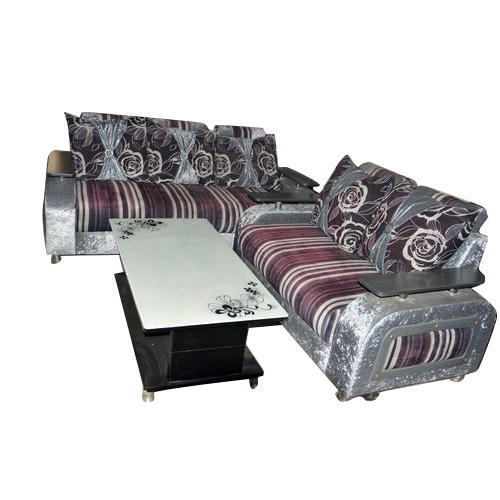 Sofa Set with Table at Rs 42000 /set | Furniture Market | Kota | ID ...