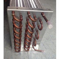 Copper Tube Aluminum Fin Condenser Coil