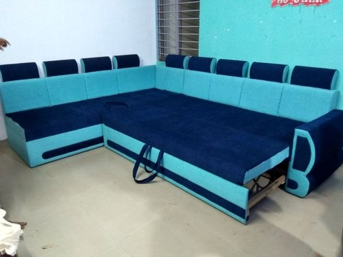Wooden Modern Sofa Come Bed Rs 40000