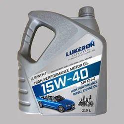 Lukeron HD 15W-40 API CH/CH-4 Automotive Lubricants, Packaging Type: Can