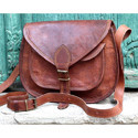Handmade Leather Sling Bag