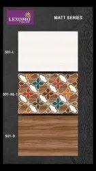 Lexomo Multicolor Decorative Ceramic Wall Tiles