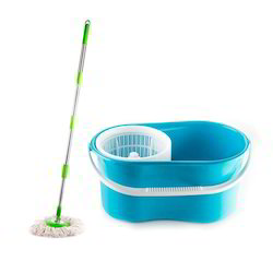 Plastic Bucket Foldable 360 Degree Cleaning Mop
