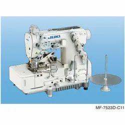 Juki MF-7523D-C11 Bottom Coverstitch Machine, Max Sewing Speed: 5, 000sti/min