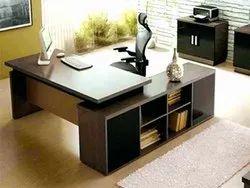 Wooden L Shape Godrej Office Table