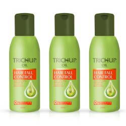 Trichup Hair Fall Control Oil - 200ml x 3 for Personal