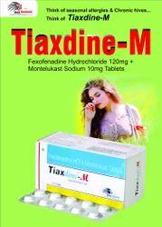 Fexofenadine HCI. 180mg   Montelukast 10mg (Tablets)