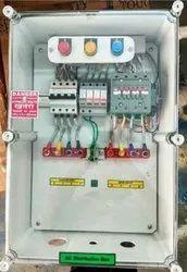 Solar ACDB 30-40 KW with No Volt Relay, AC SPD & RYB Lamp
