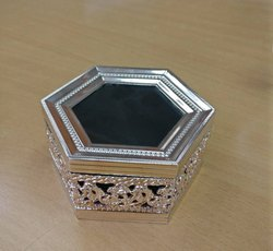 Hexagonal Silver Box