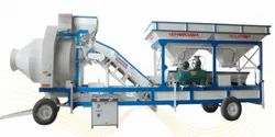 VKI Fully Automatic VKCT30 Mobile Twin Shaft Concrete Batching Plant