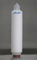 White PES Filter Cartridge, Diameter: 68mm