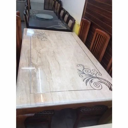 Rectangular Marble Table Tops 32 Mm Rs 11500 Piece Ss Marble Handicraft Id 21861844833