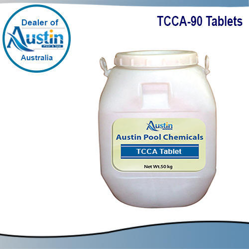 TCCA-90 Tablets, Packaging Type: Plastic Container