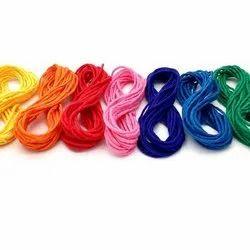 染色纺织涤纶纱,包装类型:卷