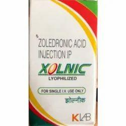 Zoledronic Acid Injection IP, 4 Mg, Packaging Type: Box
