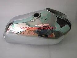 New Yamaha XT TT 500 Chrome Gas Fuel Petrol Tank Steel 1977 Model
