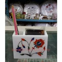 Marble Inlay Card Holder for Corporate Gifts