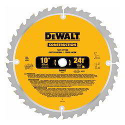 Large Diameter Construction Saw Blades