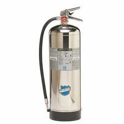 Polished Aluminium CO2 Fire Extinguisher