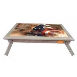 Captain America Printed Foldable Laptop Table