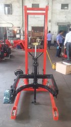 Manual Drum Stacker Manual Tilting