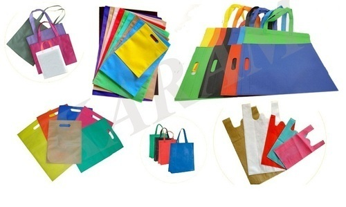 S k packaging Non Woven and W Cut Gsm Virgin Quality Bag, Size: 9x12 11x14 13x16 16x20 20x24
