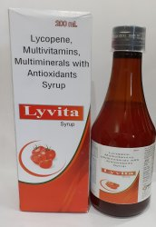Lycopene, Multivitamin, Multiminerals  Syrup