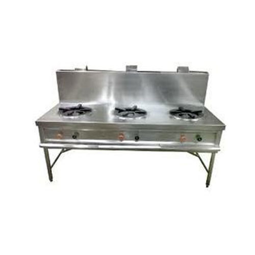 Silver Burner Range, For Kitchen