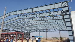 Ms And Ss Mild Steel PEB Structures Fabrication, in Globe