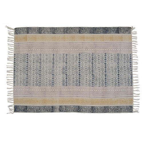 Cotton Printed Large Rugs For Living