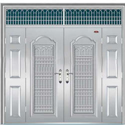 Stainless Steel Grill Door
