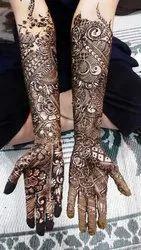 Female Bridal Mahendi
