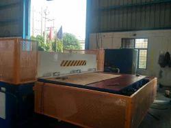 Santec Automatic CNC Hardboard Cutting Trimming Presses, Capacity : >100 Ton