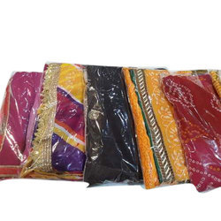 Traditional Georgette Saree, 5.5 M (separate Blouse Piece)