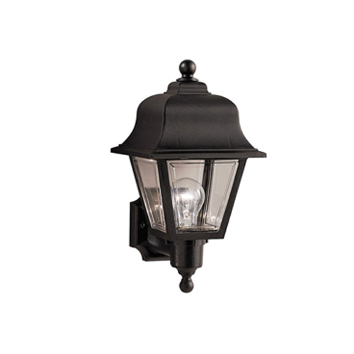 Black ABS Zeus Outdoor Garden Lights