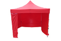 Quick Foldable Gazebo Tent-Red