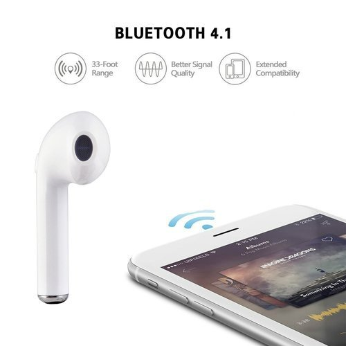 aeee77249c5 Wireless i7 Bluetooth Headset/Earphone For All Smartphone(Single Piece)