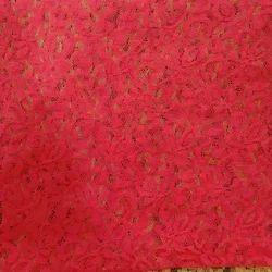 Jamavar Makhi dyed Febric