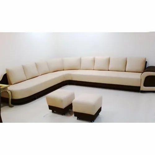 L Shape Designer Corner Sofa Set