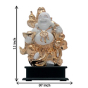Gold Plated Laughing Buddha Statue Corporate Gift