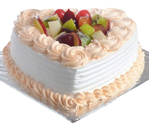 Heart Shape Mix Fruit Cake At Rs 1095 Piece
