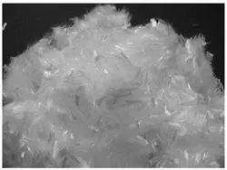 White Raw Nylon Fiber 6, 3.6, 12, Grade: New