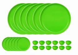 MEHUL Plastic Mini Dinner Set of 24 Pcs