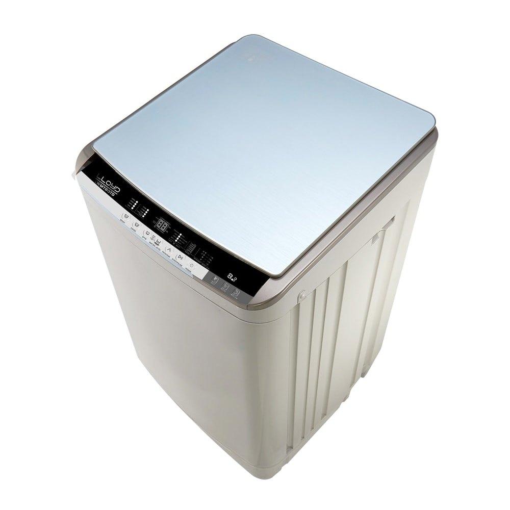Lloyd 8 kg Fully Automatic Top Load Washing Machine, LWMT80TD, White